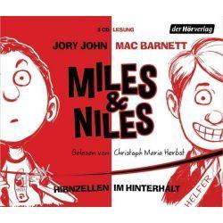 Hörbuch: Miles & Niles - Hirnzellen im Hinterhalt  von Jory John,Mac Barnett