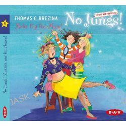 Hörbuch: No Jungs! 05. Mehr Pep für Mam!  von Thomas C. Brezina