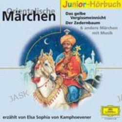 Hörbuch: Orientalische Märchen. 2 CDs  von Elsa Sophia Kamphoevener