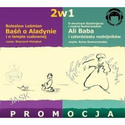 2w1. Baśnie o Alladynie / Ali Baba [ audiobook/CD ] (CD)