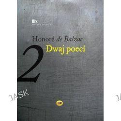 Dwaj poeci - audiobook (druk/CD) - Honoriusz Balzac