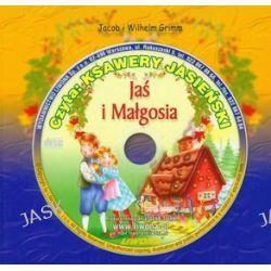 Jaś i Małgosia - audiobook (druk/CD) - Jakub Grimm, Wilhelm Grimm