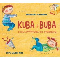 Kuba i Buba, czyli awantura do kwadratu - audiobook (CD) - Grzegorz Kasdepke