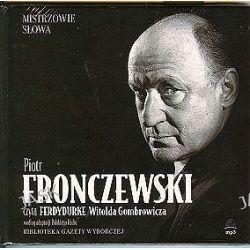 Mistrzowie słowa. Ferdydurke - audiobook (CD) - Witold Gombrowicz