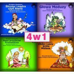 Pakiet Mity greckie: Głowa meduzy. Śliczna i mądra. Nasz przyjaciel. Złoto i uszy króla Midasa - audiobook (CD)
