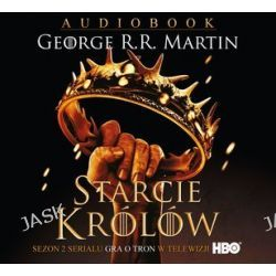 Starcie królów - książka audio na 2CD (CD) - George R. R. Martin