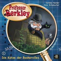 Hörbuch: Professor Berkley 01. Die Katze der Baskervilles  von Corinna Harder,Jens Schumacher