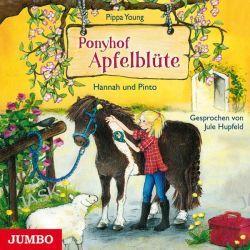 Hörbuch: Ponyhof Apfelblüte 04. Hannah und Pinto  von Pippa Young