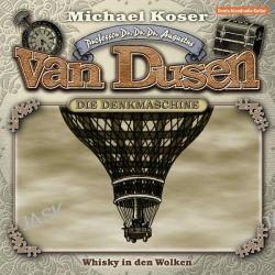 Hörbuch: Professor Dr. Dr. Dr. Augustus van Dusen 07. Whisky in den Wolken  von Michael Koser