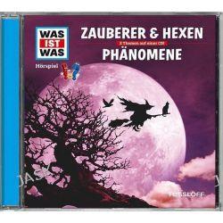 Hörbuch: Was ist was Hörspiel-CD: Zauberer & Hexen/ Phänomene  von Haderer Kurt