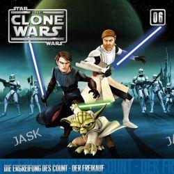 Hörbuch: Star Wars, The Clone Wars - Die Ergreifung des Count - Der Freikauf, 1 Audio-CD