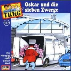Hörbuch: TKKG - Oskar und die sieben Zwerge (157)  von Stefan Wolf