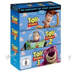 Filme: Toy Story 1-3 Pack  von John Lasseter,Lee Unkrich,Ash Brannon