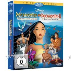 Filme: Pocahontas / Pocahontas II - 2 Disc Edition  von Mike Gabriel,Eric Goldberg,Tom Ellery,Bradley Raymond