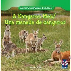 A Kangaroo Mob/Una Manada de Canguros, Animal Groups/Grupos de Animales by Johanna Burke, 9781433988042.