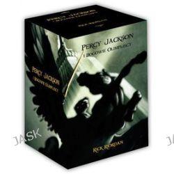 Pakiet: Percy Jackson i Bogowie Olimpijscy. Tom 1-5 - Rick Riordan