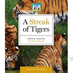 A Streak of Tigers, Animal Groups in the Jungle by Alex Kuskowski, 9781617835421.