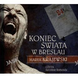 Koniec świata w Breslau - audiobook (CD) - Marek Krajewski