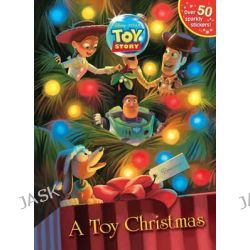 A Toy Christmas, Glitter Sticker Book by Random House Disney, 9780736428422.