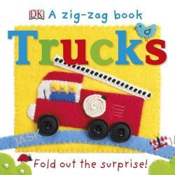 A Zig Zag Book Trucks by Dorling Kindersley, 9781409376057.