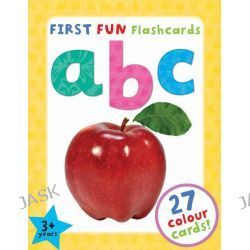ABC, First Fun Flashcards by , 9781782091165.