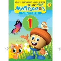 ABC Mathseeds Activity Book 1, Starting Out by Sara Leman, 9781742152127.