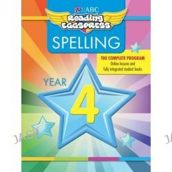ABC Reading Eggs Eggpress Spelling Workbook, Year 4 by ABC Reading Eggs, 9781742153094.