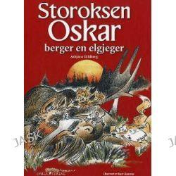 Storoksen Oskar berger en elgjeger