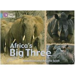 Africa's Big Three: Turquoise/Band 07, Band 07/Turquoise by Jonathan Scott, 9780007186938.