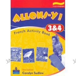 Allons-y! 3 & 4 Activity Book, French Activity Book by Carolyn Sudlow, 9780733938962.