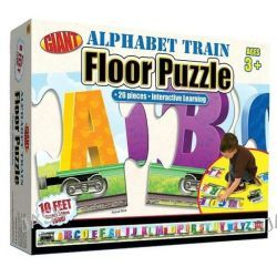 Alphabet Train Giant Floor Puzzle, 26 Pieces - Interactive Learning by Inc. School Specialty Publishing, 9780769658223.