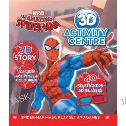 Amazing Spider-man 3D Activity Centre, Amazing Spider-Man, 9781742834672.