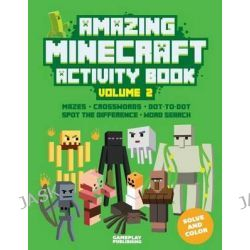 Amazing Minecraft Activity Book by Minecraft Library, 9781514621905.