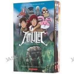 Amulet Boxset, Books 1-3 by Kazu Kibuishi, 9780545643795.