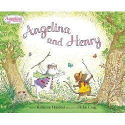 Angelina and Henry, Angelina Ballerina (8x8) by Katharine Holabird, 9780142405901.
