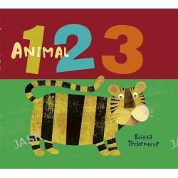 Animal 123 by Britta Teckentrup, 9781921720819.
