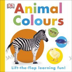 Animal Colours, Lift-the-flap learning fun! by Dorling Kindersley, 9780241187616.