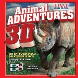 Animal Adventures 3D by Editors of Time for Kids Magazine, 9781618931450.