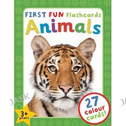 Animals, First Fun Flashcards by , 9781782091196.