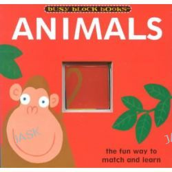 Animals, Busy Block Books by Patty Smith, 9780762410101.