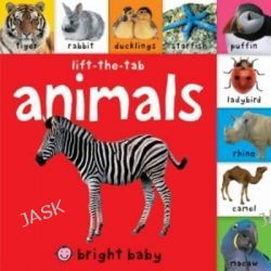 Animals, Bright Baby Lift-the-tab Books by Roger Priddy, 9781849158688.