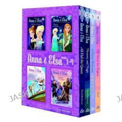 Anna & Elsa, Books 1-4 (Disney Frozen) by Erica David, 9780736434591.