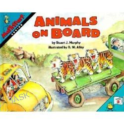 Animals on Board, MathStart S. by Stuart J. Murphy, 9780064467162.
