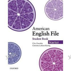 American English File Starter, Student Book with Online Skills Practice by Clive Oxenden, 9780194774000.