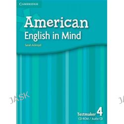 American English in Mind Level 4 Testmaker Audio CD and CD-ROM by Sarah Ackroyd, 9780521733588.