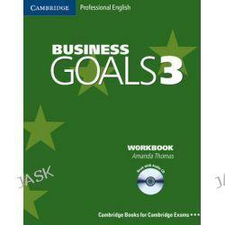 Business Goals 3 Workbook with Audio CD, Business Goals Ser. by Amanda Thomas, 9780521617857.