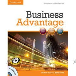 Business Advantage Advanced Student's Book with DVD, Business Advantage by Martin Lisboa, 9780521181846.