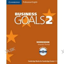 Business Goals 2 Workbook with Audio CD, Cambridge Professional English by Amanda Thomas, 9780521614672.