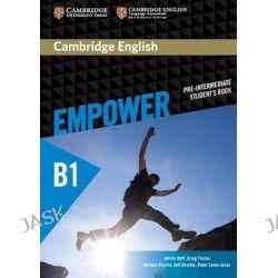 Cambridge English Empower Pre-Intermediate Student's Book, Pre-intermediate by Adrian Doff, 9781107466517.