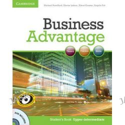 Business Advantage Upper-intermediate Student's Book with DVD, Business Advantage by Michael Handford, 9780521132176.
